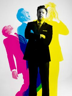 CMYK layering by Billy Kidd  #JasonSudeikis  #color