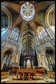 I sang there!!! LOVED IT! one of the best experiences of my life! Ely Cathedral, United Kingdom