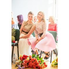 Krista @kristazimeca and Klinta @kshtrausax in dresses by Coo Culte