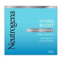 Buy Neutrogena Hydro Boost Night Concentrate 50.0 g Online | Priceline