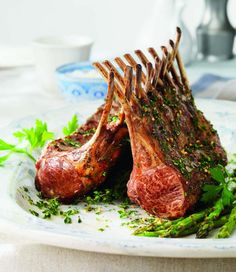 Allen Brothers Steaks: Always a crowd pleaser on Easter Sunday, our high quality, natural Frenched rack of lamb makes for a dramatic presentation in your dining room. Add this perfect culinary centerpiece to the holiday table and watch your guests swoon after their first bite of this exceptionally juicy, tender and flavorful lamb. Incredibly delicious. http://www.facebook.com/absteaks