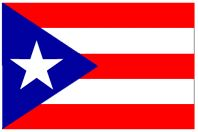 While researching the Puerto Rico flag the white star stands for the commonwealth of the country, the three sides of the triangle represent the executive, legislative and judicial branches, the three red strips symbolize blood that feeds the government, the white stripes represents the rights of man and the freedom of the individual