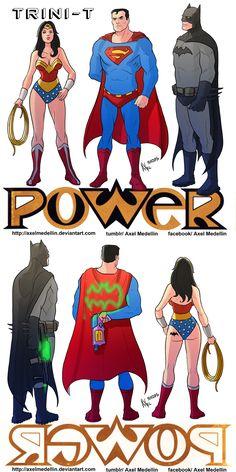 TLIID DC Big Three in Ice-T's Power Marvel Vs, Marvel Funny, Funny Comics, Batman Y Superman, Marvel Dc Comics, Dc Comics Art, Comics Girls, Dc Trinity, Batman Wonder Woman