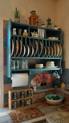 Kitchen Redo, Home Decor Kitchen, Country Kitchen, Kitchen Interior, Kitchen Storage, New Kitchen, Kitchen Remodel, Kitchen Design, Kitchen Cabinets