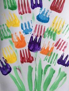 La fourchette. 15 techniques et astuces de peinture que vous allez adorer tester avec vos enfants