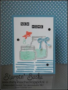 Stampin' Sacha - Stampin' Up! - Jar of Love - Labeler Alphabet - Playful Backgrounds - Every Day Jars Framelits - Marina Mist - Calypso Coral - Pool Party - Masking Technique - Every Day Occasions - #stampin_sacha - #stampinup