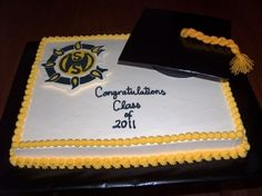 Graduation By VeronicaLuis on CakeCentral.com