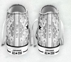 Custom #Converse #Idea for #lesbianwedding for me <3 Just a little idea for my feet for our wedding :) lesbian wedding