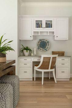 Jamie Keskin Design – Home Office Design Vintage Kitchen Desk Areas, Kitchen Desks, Kitchen Plants, Kitchen Reno, Residential Interior Design, Decor Interior Design, Home Office Design, House Design, Design Design
