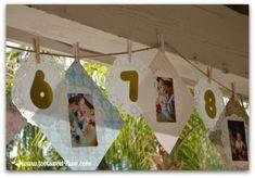 1st Birthday Timeline Banner Toot-Timeline Banner Birthday