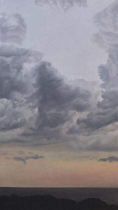 StateoftheART is pleased to offer the original painting Realistic Oil Painting, Sky Moon, Quote Prints, Original Paintings, Sketches, Ocean, Clouds, Watercolor, Abstract