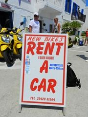 Nisyros Island Greece  Eagle's Nest Car & Bike Rentals