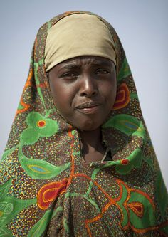 Portrait Of a Teenage Girl in Buroa -  Somaliland by Eric Lafforgue, via Flickr