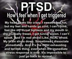 PTSD.           This is how i feel a lot.