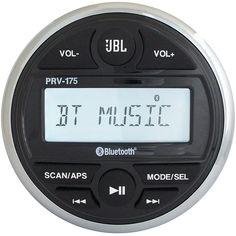 JBL PRV-175 Marine digital media receiver with built-in Bluetooth