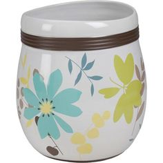 Wastebaskets at Kohl's - This Creative Bath Paradise ceramic wastebasket features a floral pattern. Shop our full line of bath coordinates at Kohl's. Diy Bathtub, Flower Vases, Flowers, Washing Clothes, Bathroom Accessories, Decorative Items, Cleaning Wipes, Floral Design