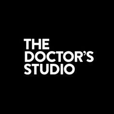 The Doctor's Studio by A Friend Of Mine. #logotype #design #branding