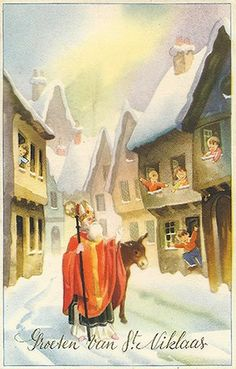 Groeten van St Niklaas / Greetings from St. Nicholas.
