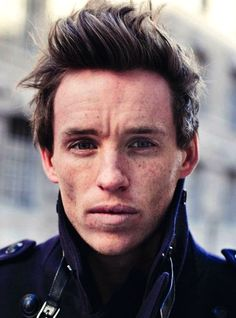 I just want to smooth that furrowed brow with my fingers. (Eddie Redmayne)