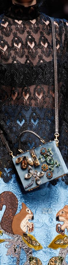 Dolce & Gabbana Collection Details Ready-to-WearFall-winter 2014-2015