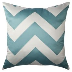 Turquoise chevron pillows from target $20