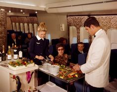 Air France 747 First Class 1969