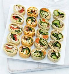Mini wrap slices