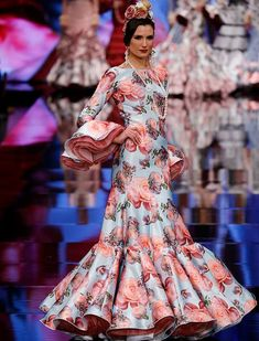 SIMOF 2018: el desfile de Yolanda Rivas y MM Garrido complementos, en fotos / Chema Soler Flamenco Costume, Flamenco Dresses, Spanish Dress, Spanish Fashion, Islamic Fashion, Yes To The Dress, African Fashion Dresses, Traditional Dresses, Pin Up