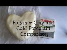 Comparisons [Polymer Clay and Cold Porcelain]  One of the best video's I have seen. Thank you DottedKitten