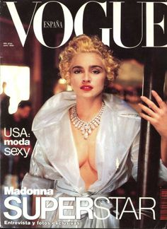 Madonna -- Vogue Spain, July 1990