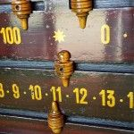 Antique Snooker Scoreboard in Mahogany. B507a | Browns Antiques Billiards and Interiors.