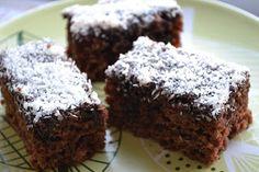 Kakaový koláč s kokosom