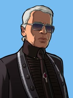 Grand Theft Auto IV Art & Pictures,  Karl Lagerfeld