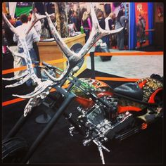 Loving this Wildgame Innovations #motorcylce! #deerhunting #buck #ATA2013