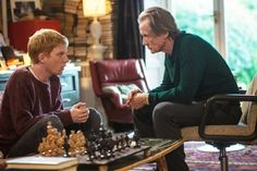 Domhnall Gleeson stars as Tim and Bill Nighy stars as Dad in Universal Pictures' About Time