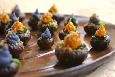 February 4, 2016 is Stuffed Mushroom Day. Help your audience celebrate by sharing your opinion of this STUFFED MUSHROOM POPPERS (WITH PECAN PARMESAN!) recipe with them.  Join the Nutrition Entrepreneurs Mastermind for free, for more resources to help you Get Nutrition Clients. http://www.GetNutritionClients.com/nem