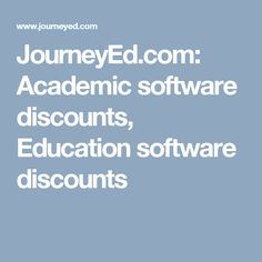 92 best teaching tools images on pinterest teaching tools teacher journeyed academic software discounts education software discounts fandeluxe Choice Image