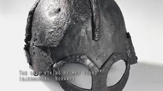 Actually there has been found only ONE, single one, Viking helmet in the whole world. Picture by Unimus (Norsk Kulturhistorisk Museum)
