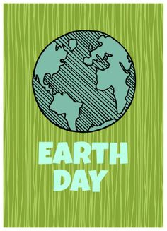 #RealCoakePowerPin from @Leanne Jacobs Earth Day Mantel and a Free Printable - Organize and Decorate Everything