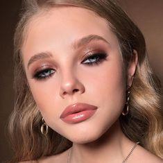 Aesthetic Makeup Looks Dark Skin Nude Makeup, Dark Makeup, Kiss Makeup, Makeup Inspo, Natural Makeup, Natural Hair, Prom Make Up, Beauty Lookbook, Looks Dark