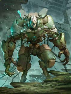 Galaxy Saga - Raijin Regular by Reza-ilyasa, Deviant Art Design Alien, Robot Design, Game Design, Arte Sci Fi, Galaxy Saga, Character Concept, Character Art, Character Design Cartoon, Arte Robot