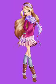 The full body official art of all Winx girls from Winx Club season in new style Winx Club, My Little Pony Games, Disney Furniture, Les Winx, Flora Winx, Green Heels, Season 8, Animated Cartoons, Club Outfits