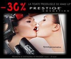 ❗Iulie este LUNA PROMOTIILOR! Vino in magazinul Irina's Boutique, in perioada 01 Iulie – 31 Iulie, si bucura-te de 30% REDUCERE la toate produsele de make-up PRESTIGE COSMETICS. 💄👄💅 Oferta este disponibila in magazinul Irina's Boutique de pe Strada Mihai Eminescu, nr. 17, sector 1, Bucuresti. #irinasboutique #reduceri #makeup #prestigecosmetics #cosmetice Irina S, Prestige Cosmetics, Boutique, The Prestige, Make Up, Perfume Store, Makeup, Beauty Makeup, Boutiques