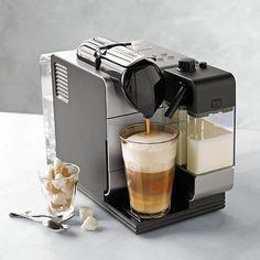 Nespresso Delonghi Lattissima Plus Espresso Maker #williamssonoma