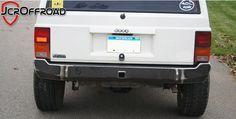 JcrOffroad, Inc. Jeep Cherokee XJ Rear Bumper - Standard