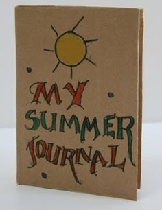 Keep a journal at #summercamp to remember all of the fun you had #RudisGFHappyCamper