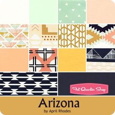 Arizona Fat Quarter Bundle April Rhodes for Limited Edition of Art Gallery Fabrics - Fat Quarter Bundles | Fat Quarter Shop