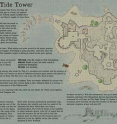 Thomas Drevon - Crimson Tide Tower One Page Dungeon Contest 2016