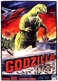 Gigantis: The Fire Monster! 1955 Next up is the second Godzilla film, Gigantis The Fire Monster! Also known as Godzilla Raids Again and G. Cool Monsters, Famous Monsters, Classic Monsters, Science Fiction, Fiction Movies, Top Movies, Movie Poster Art, Poster S, Original Godzilla