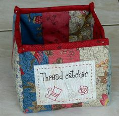 Tutorial for a cute thread catcher